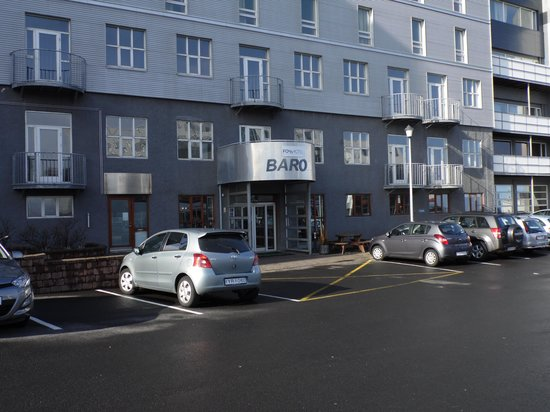 Fosshotel Baron: Hotel Front