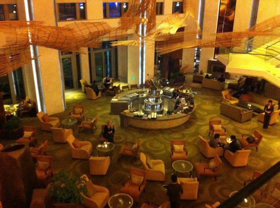 Riva : Lobby of the Intercontinental from second floor