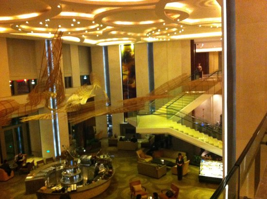 Riva : Another view of the Intercontinental Hotel lobby