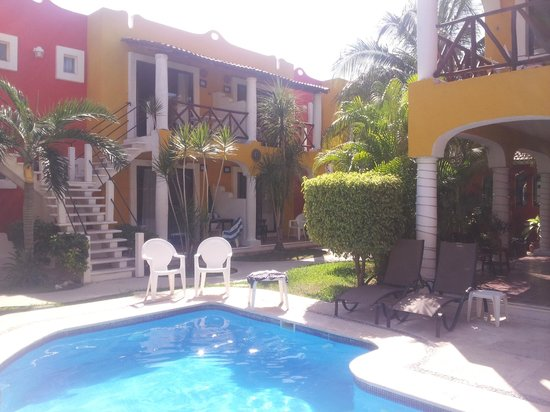 El Acuario Hotel: View from the pool