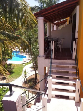 El Acuario Hotel: View from our room