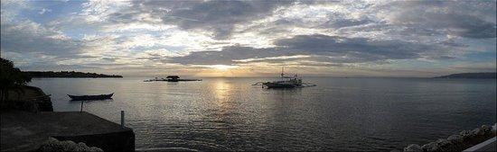sunset at Sherwood Bay Resort