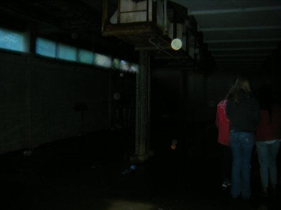 Ghost Hunter Chattanooga: Bright orb in one of the rooms.
