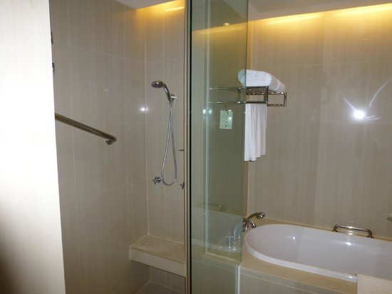 The Duchess Hotel and Residences: shower and bath