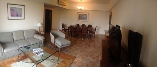 Somerset Ho Chi Minh City: The main hall of the apartment