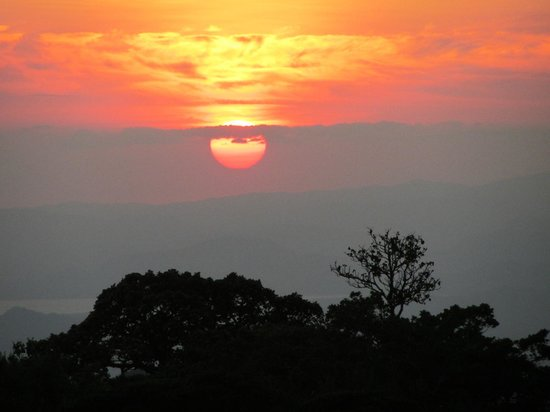 Hidden Canopy Treehouses Boutique Hotel: Sunset photo taken from our room....magical!