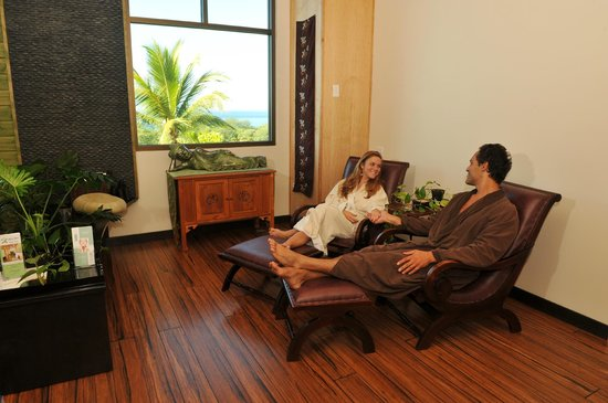 Maui Zen Day Spa : Relaxation lounge