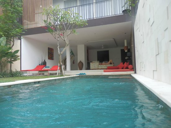 Jay's Villa Umalas: View from our private pool