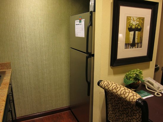 Homewood Suites by Hilton Lafayette-Airport, LA: Full-sized refrigerator