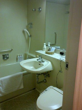 Keikyu EX Inn Shinagawa Ekimae: Bathroom