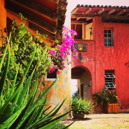 Hotel Villa Romana: Beautiful colors!