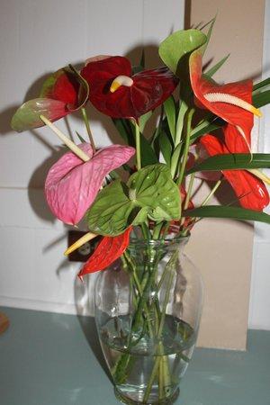 كيلاويا لودج: floral arrangement