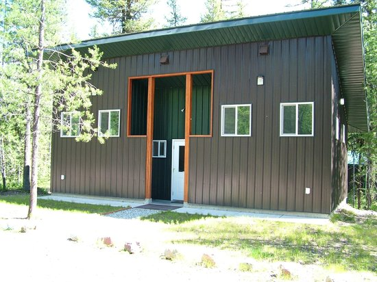 Glacier Haven RV and Campground: Shower House
