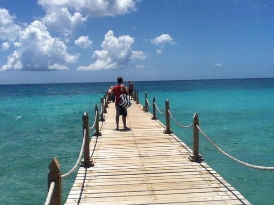 Viva Wyndham Dominicus Beach: el muelle!