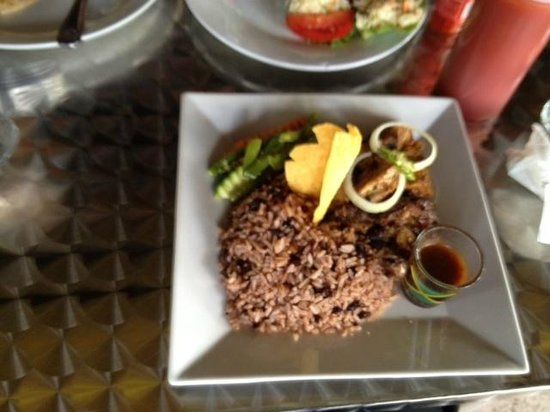 Mongoose Jamaica Restaurant and Lounge : Rice side dish