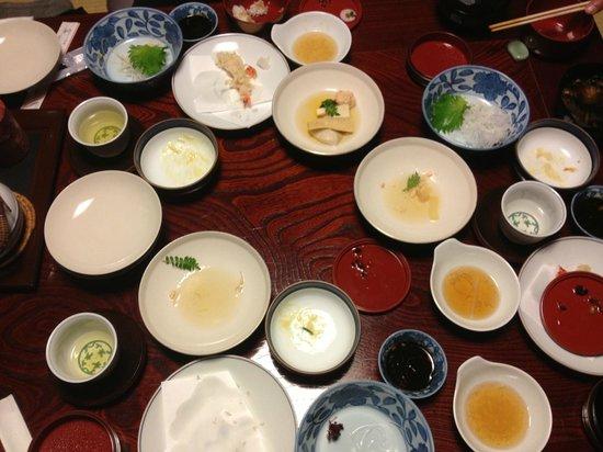 إن كاواشيما: Kanseki dinner