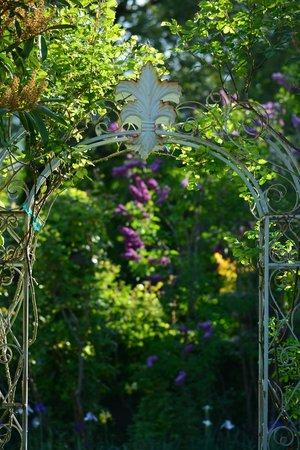 Benbow Historic Inn: Garden (front)
