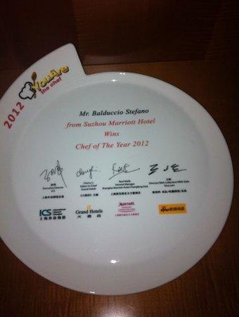 Alto Vino : chef of the  year