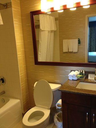 Homewood Suites by Hilton Seattle-Conv Ctr-Pike Street: Bathroom