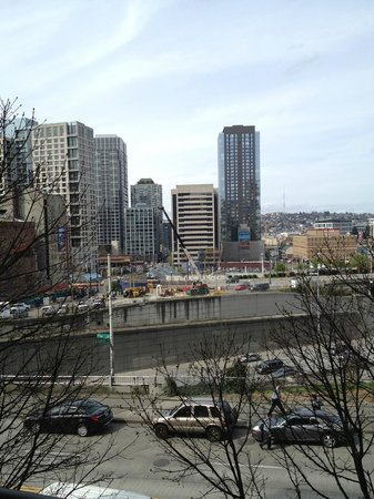 Homewood Suites by Hilton Seattle-Conv Ctr-Pike Street: View from hotel room