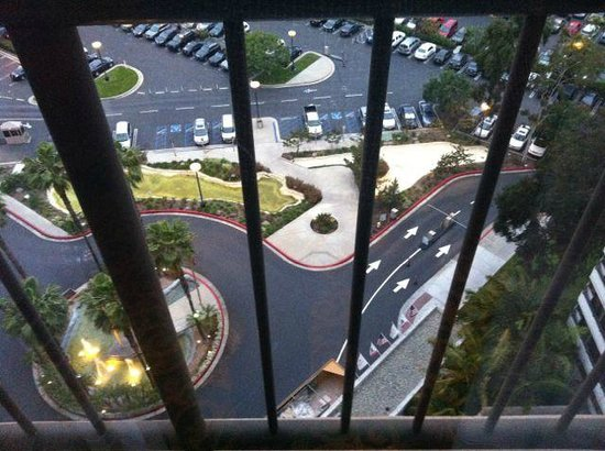 Irvine Marriott: looking down from 1712