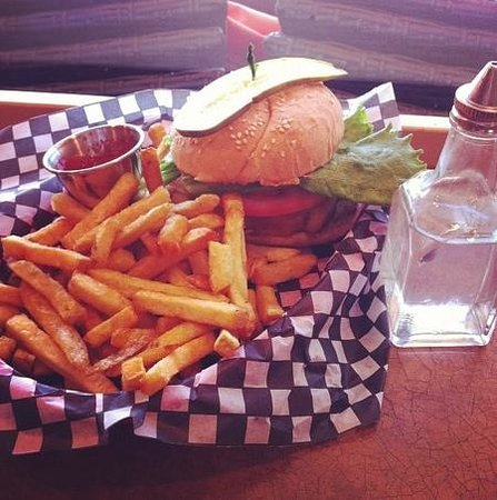 Black Creek Diner: The Classic Burger with Fries