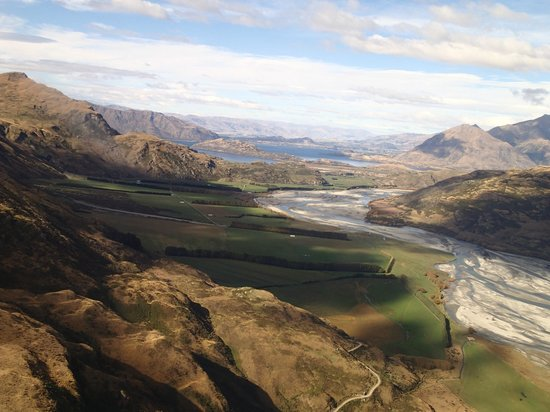 U-Fly Wanaka: The view from the air
