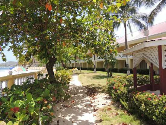 St. Lucian by Rex Resorts: certaine partie du resort