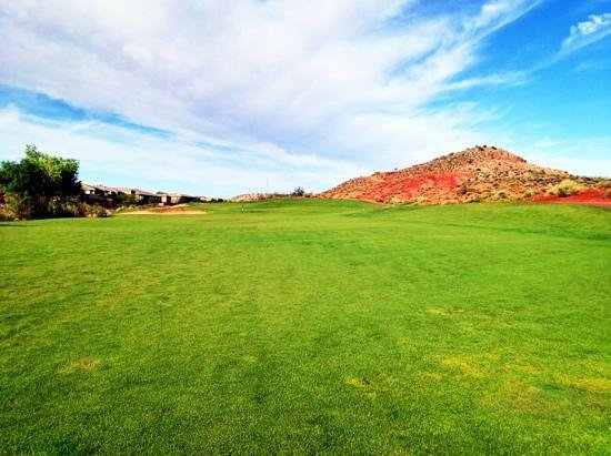 Coral Canyon Golf Club: #18