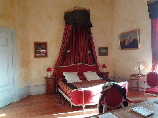 Chateau de Ternay: Notre chambre