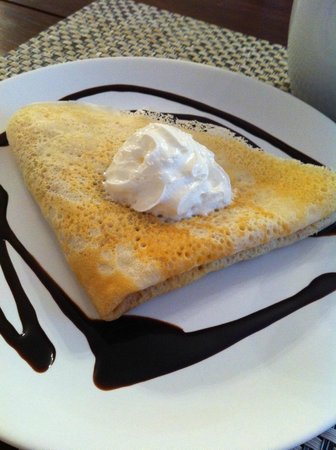 Pension Rozmaryna : yummy crepe