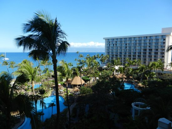 The Westin Maui Resort & Spa: north view from patio