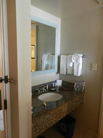 The Westin Maui Resort & Spa: sink in main room, seperate from toilet room