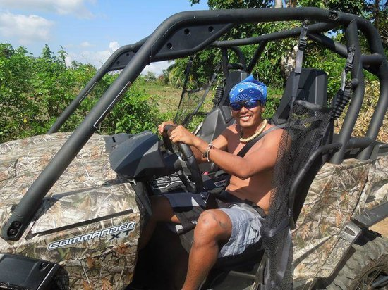 Tablas Fun Resort : ahahah extreme race track in d buggy