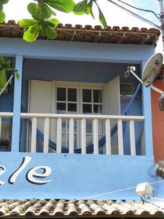 Pousada L'Escale : Balcony