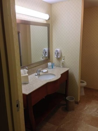 Hampton Inn & Suites El Paso West: restroom (204)