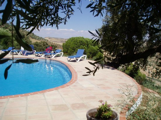 Cortijo Rosario: Mountain side Pool, very relaxing and very quiet