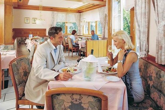 Hotel Birkenhof am See: Abendessem im Hotel Birkenhof