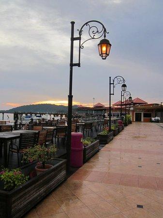 Le Meridien Kota Kinabalu: Jesselton Point Ferry Terminal