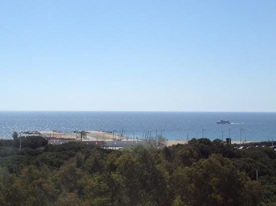 Lugaris Beach: view from apartment