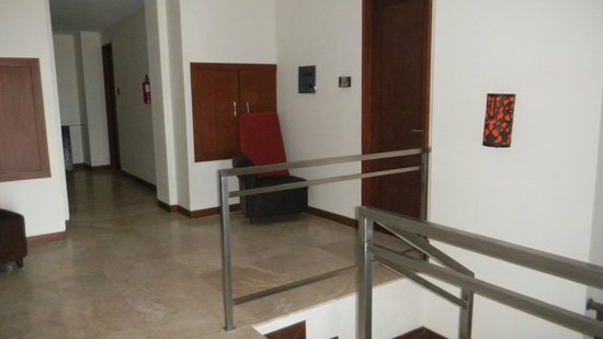The Segara Suites: we were on the first floor and often used the stairs