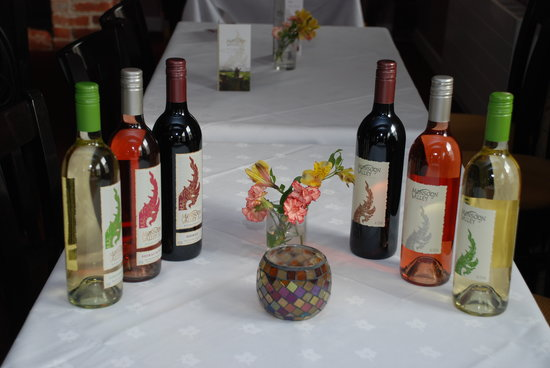 Thai Up At The Quay: Selection of Thai wines