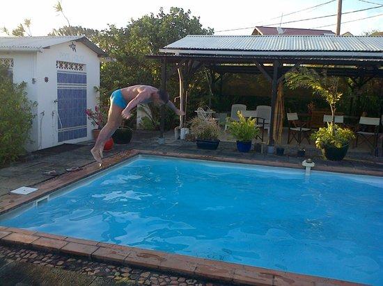 La Villa Polypheme: piscine ou on peut plonger