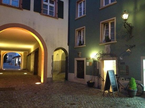 Hotel Rebstock Laufenburg: Hotel Eingang