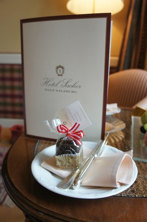 Hotel Sacher Salzburg: petite attention