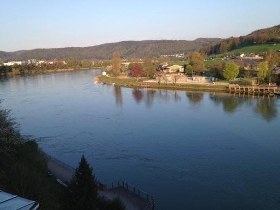 Hotel Rebstock Laufenburg: Ausblick vom Balkon