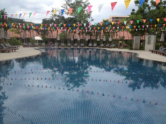 Deevana Patong Resort & Spa: One of the pools in the hotel grounds