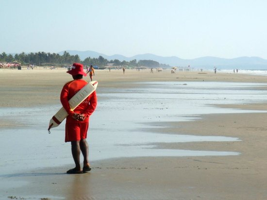Benaulim Beach: Lifeguard.