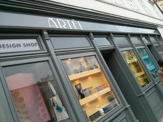 Artel: Beautiful shop with fantastic collection