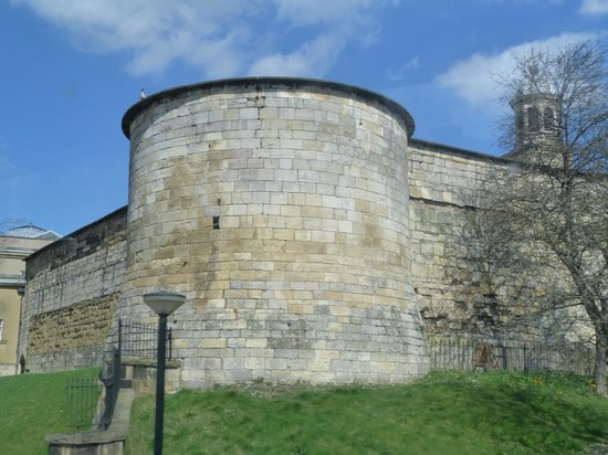 York City Walls: Gatehouse on Walls.